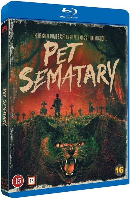 Pet Sematary, Ondskabens kirkegård, Bluray, Stephen King, Movie
