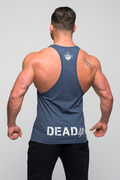 "Stony Sportswear, Deadlift, Tank top ""Heavy"" Nayv Blue 3"