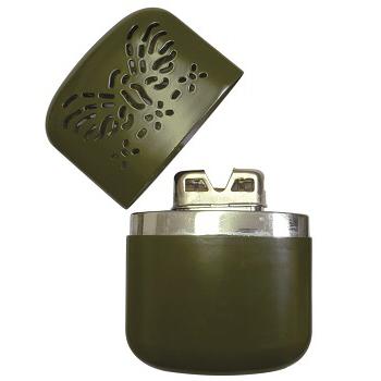 Mil-tec - Pro Håndvarmer til Lighter Benzin (Oliven)
