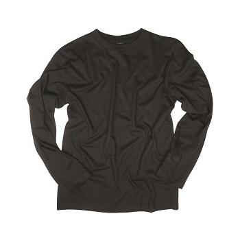 Mil-tec - T-shirt Langærmet (Sort)