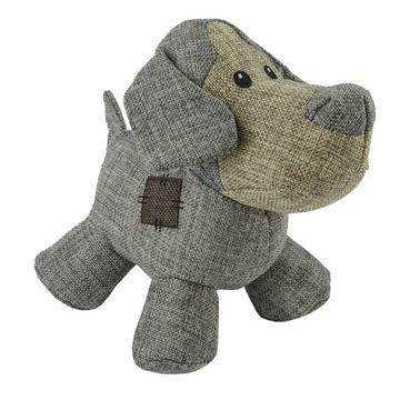 Slidstærk bamse til hunden i neutrale farver og robust materiale