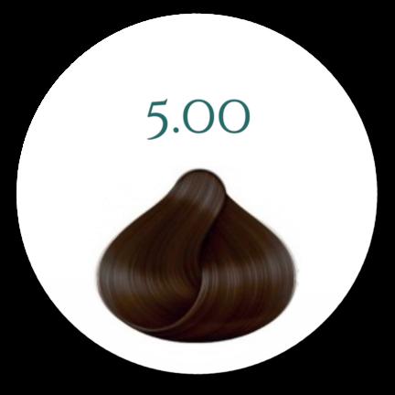 Professionel-Hårfarve-100g-Nr.500 -Brun-100ml-250-ml-beise-handsker