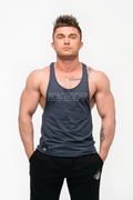 Stony Sportswear, Deadlift, Tank top i denimfarve