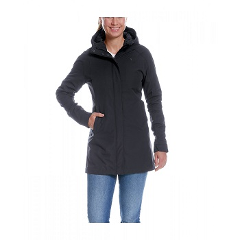 Tatonka - Jons W's Hooded Coat Dark Black