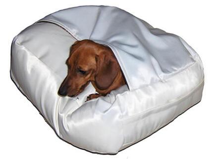 hund-på-Doggyshop-hvid-hule-hundepude-dansk-design-small