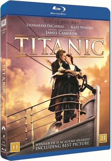 Titanic, Movie, Bluray Film, James Cameron, Leonardo diCaprio, Kate Winslet