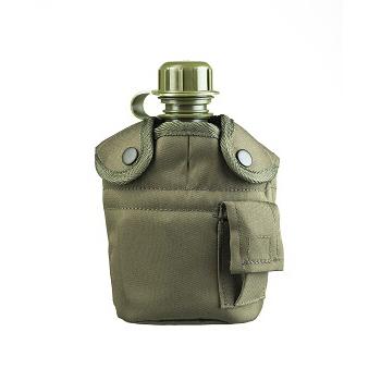Mil-tec - Feltflaske med Krus (Oliven)
