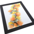 gul orange maleri 60x80