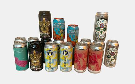 18 blandede øl til virksomheder - hver måned