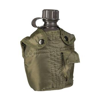 Mil-tec - Feltflaske med Taske (Oliven)