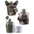 Mil-tec - Feltflaske med Krus (CCE)