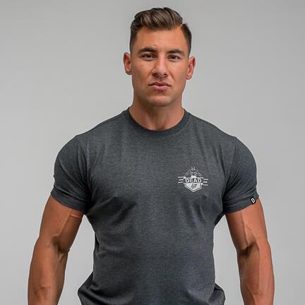 Stony Sportswear, Deadlift, T-Shirts Logo Grå