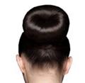 Hårbandit fra spanews til perfekt opsat hår i en knold