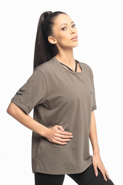 Fury kvinde T-shirts i Khaki