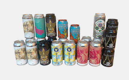 Blandede øl til virksomheder hver måned