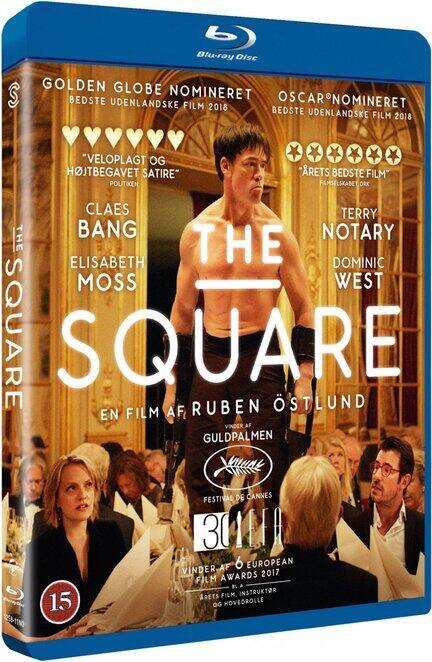 The Square, Bluray