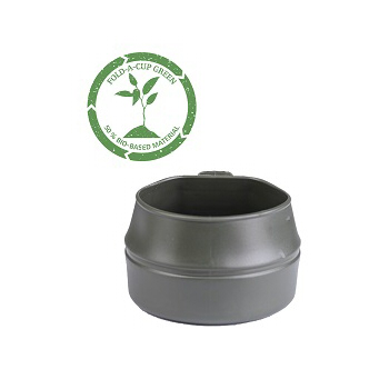 Wildo - Fold-a-cup 50% Bio 200 ml. Oliven