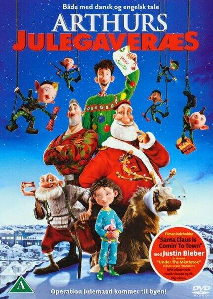 Arthurs julegaveræs, Arthur Christmas, DVD, Movie