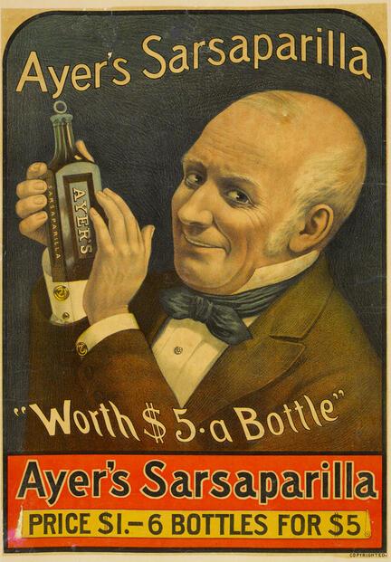 fotomester plakat sarsaparilla