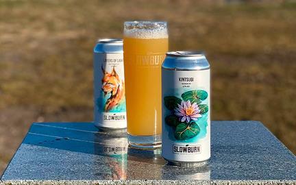 Slowburn - 2 IPA'er og et glas