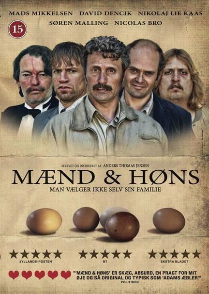 Mænd og høns, DVD